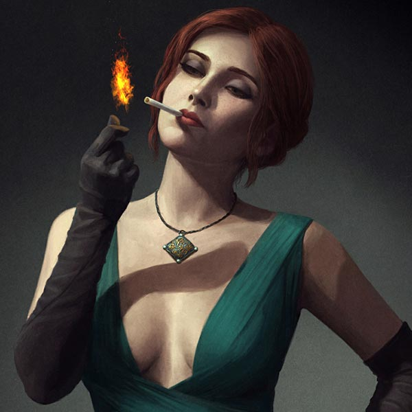 The Witcher - Triss Wallpaper Engine