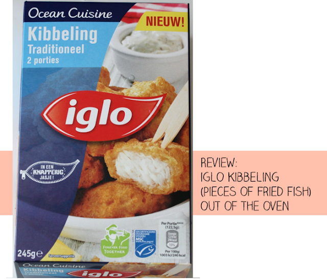 Review: Iglo Kibbeling (pieces of fried fish) out of the oven | stukjes gefrituurde witvis uit de oven