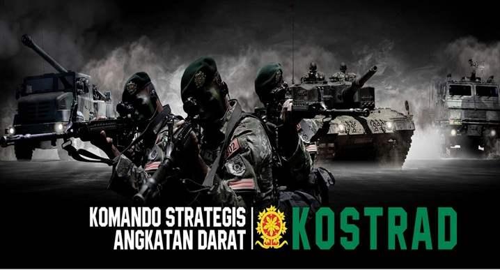 Sejarah berdirinya KOSTRAD TNI Indonesia