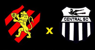 Horario do jogo Sport e Central  clássico no campeonato Pernambucano - 21/03/2018
