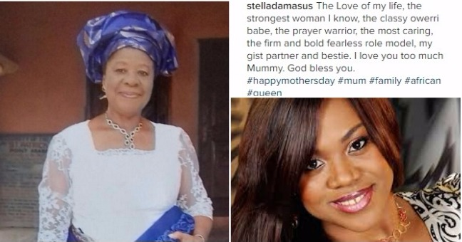 Fashion style Mothers happy day celebs and their mums for lady