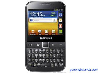 Samsung Galaxy Y Pro GT-B5510 Software