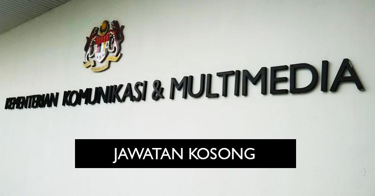 Jawatan Kosong di Kementerian Komunikasi dan Multimedia Malaysia KKMM