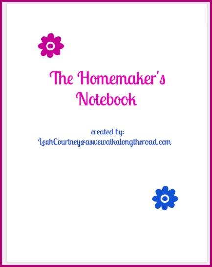 Homemaker's notebook