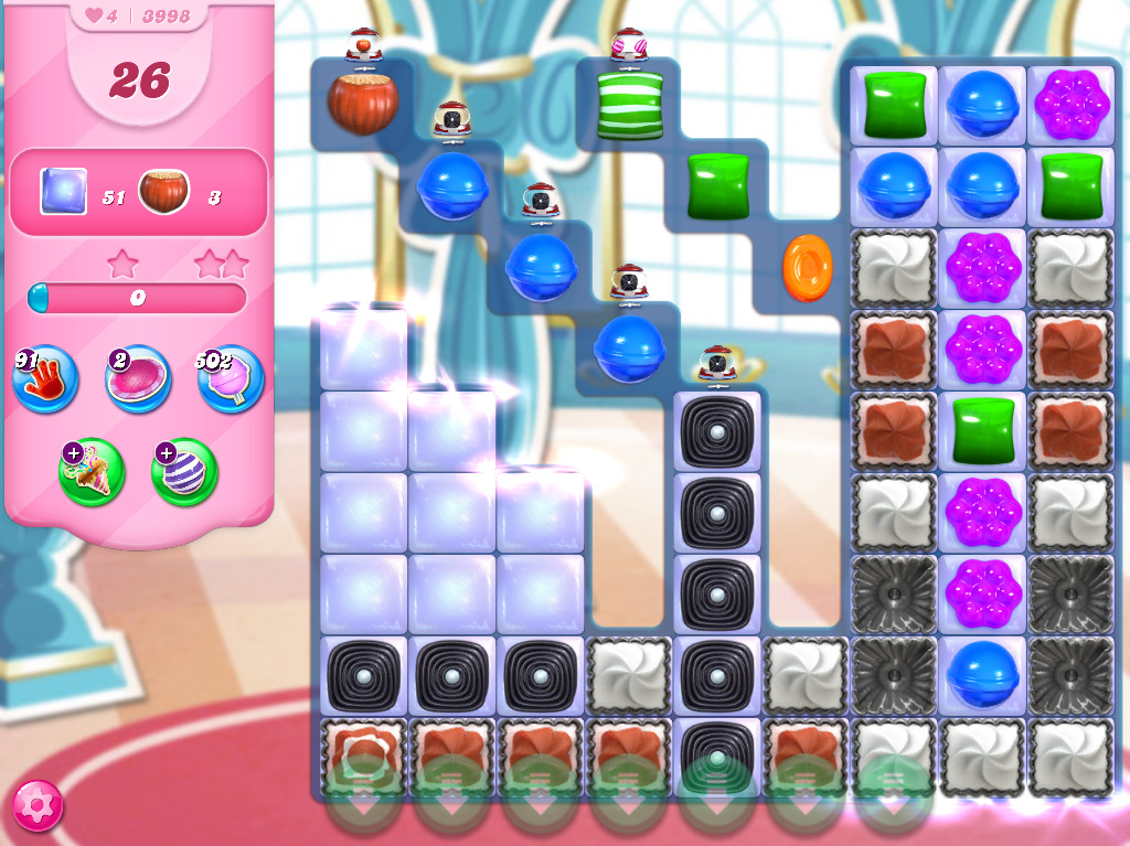 Candy Crush Saga level 3998