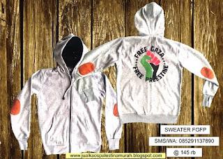 Katalog Harga Sweater Palestina Murah