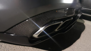 Titanium Exhaust for Mercedes AMG (Carbon Fiber Tips)