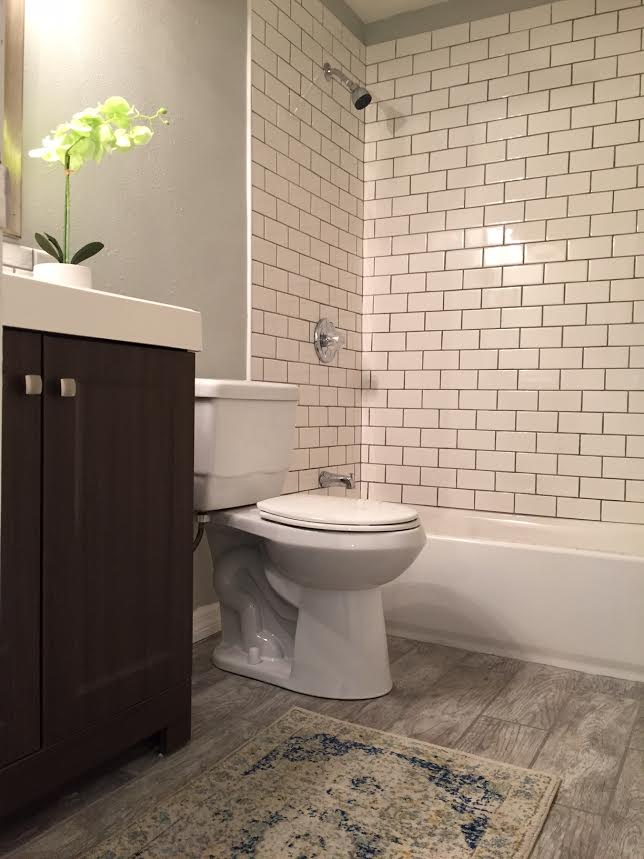 The Little Ranch That Couldis DONE - Home depot bathroom renovations