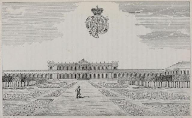 JARVILLE-LA-MALGRANGE (54) - Château (XVIIIe-XIXe siècles)