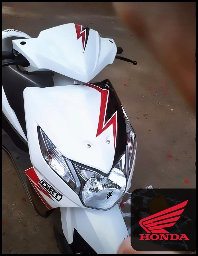 dio bike stickering images