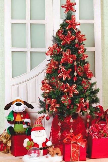 C mo hacer una flor navide a reciclando cositasconmesh for Como adornar la casa para navidad
