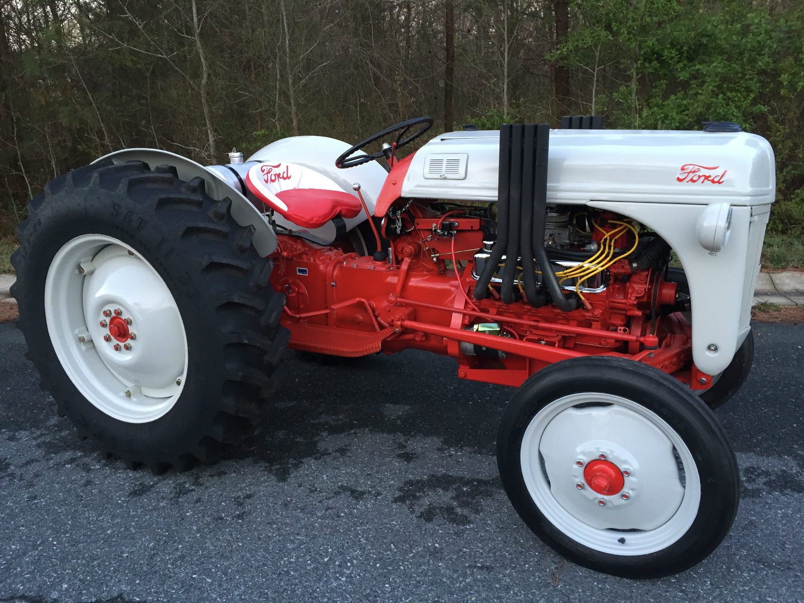 Ford Tractor Airplane : Daily turismo auction watch ford n tractor v custom