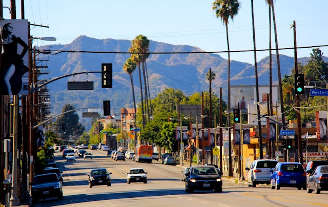 Sunset Boulevard em Los Angeles