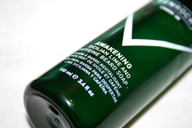 Sicilian Lime & Caffeine Beard Soap by Menrock