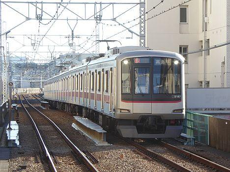 都営地下鉄三田線 高島平行き1 東急5080系