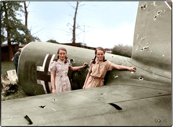 14 August 1940 worldwartwo.filminspector.com crashed Heinkel 111
