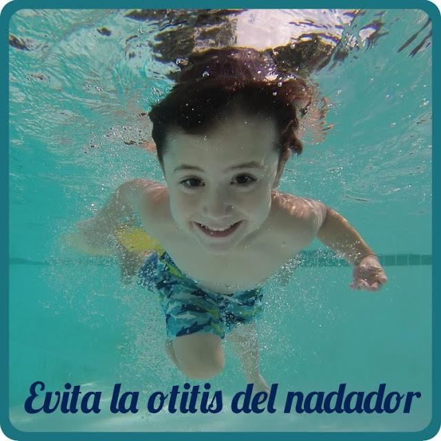 Evita las otitis de tu hijo en la playa o la piscina