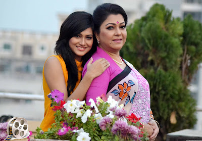 Bangladeshi Model Actress Nadia Afrin Mim with Actress Diti