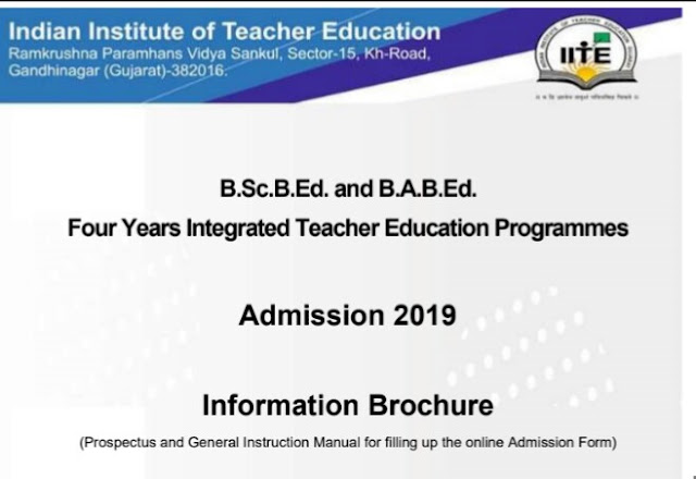 B.Ed Admission 2019 in 4 years after standard 12