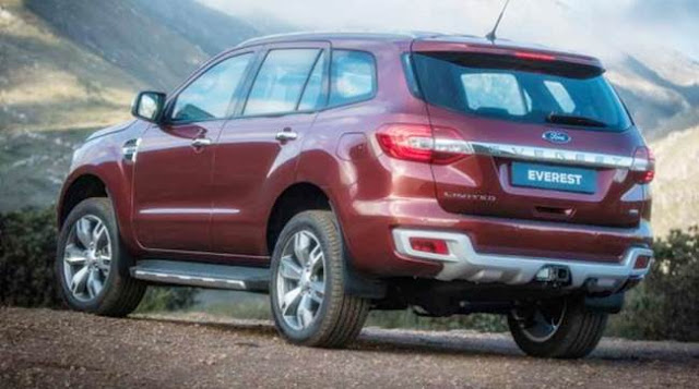 2017 Ford Everest Redesign