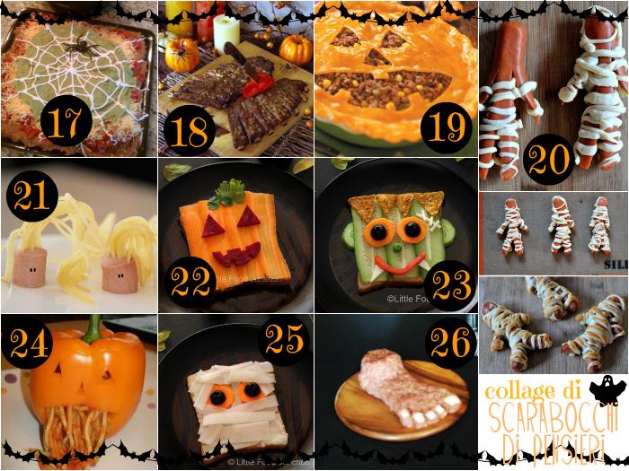 Scarabocchi di pensieri men di halloween idee salate - Idee menu halloween ...
