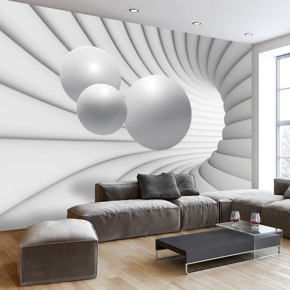Papier peint intissé 350x245 - 3 couleurs au choix - Top vente - Papier peint - Tableaux muraux déco XXL