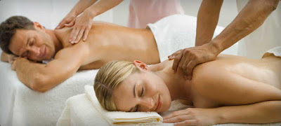 Massage therapy session