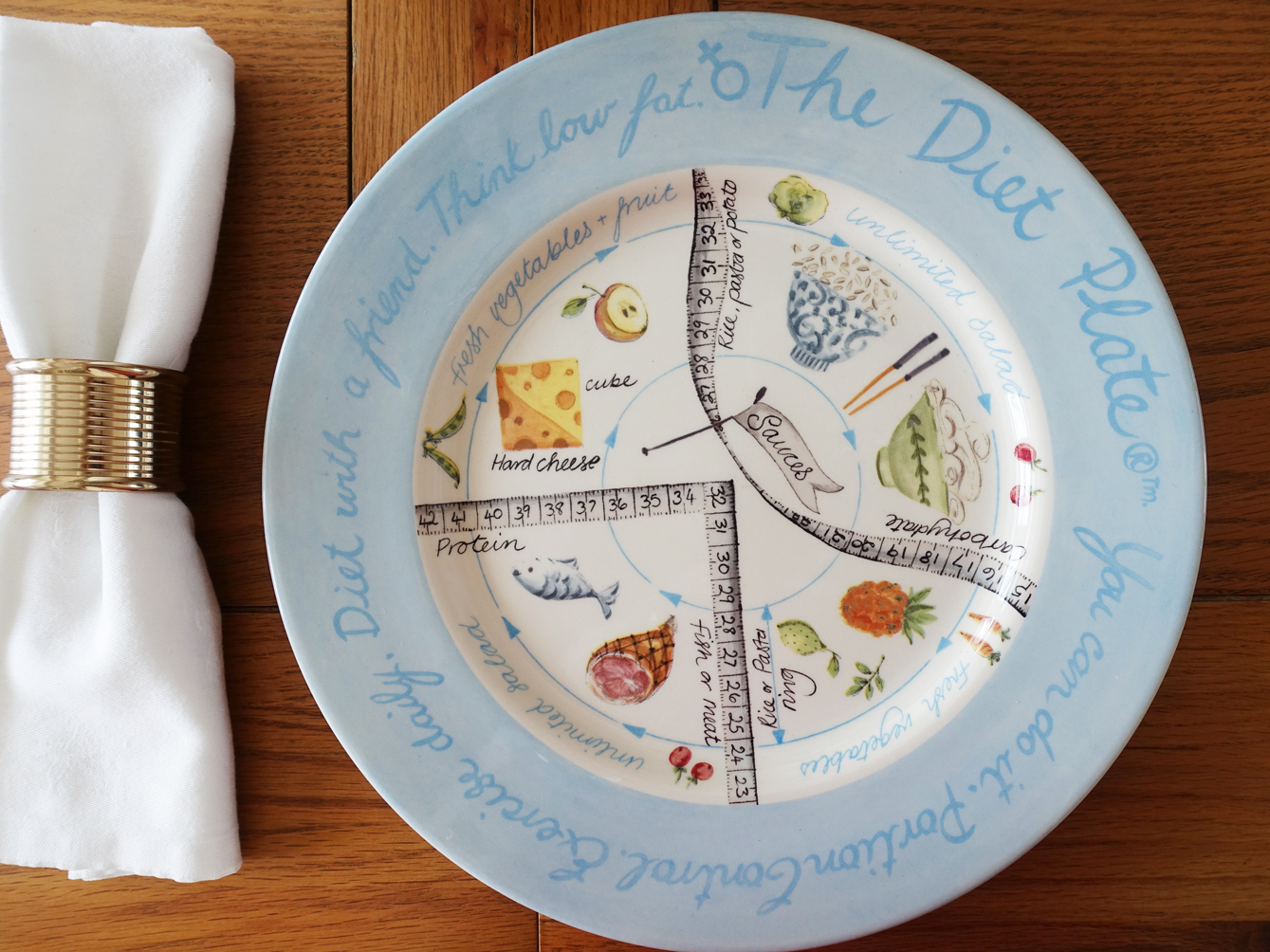Losing and maintaining weight is all about portion control. The Diet Plate and its new online weight management tool helps you and your family do this in an easy and natural way. Image copyright: Gail Hanlon
