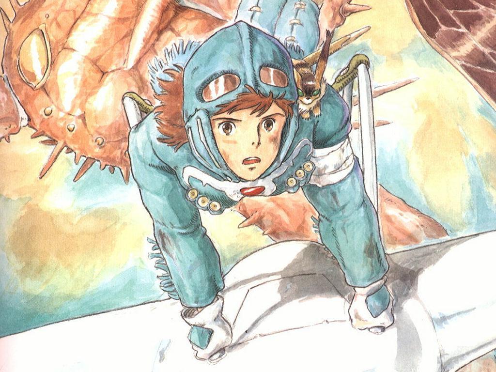 Nausicaa 25 1024x768 - Las heroínas del Estudio Ghibli