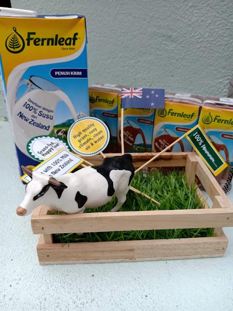 Fernleaf Diperbuat Dengan 100% Susu Dari New Zealand