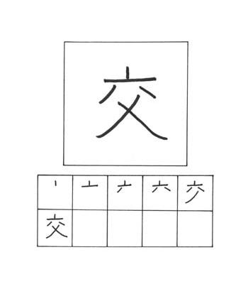 kanji menukar