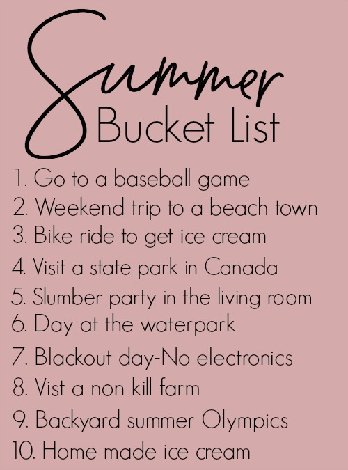 summer-bucket-list-2017
