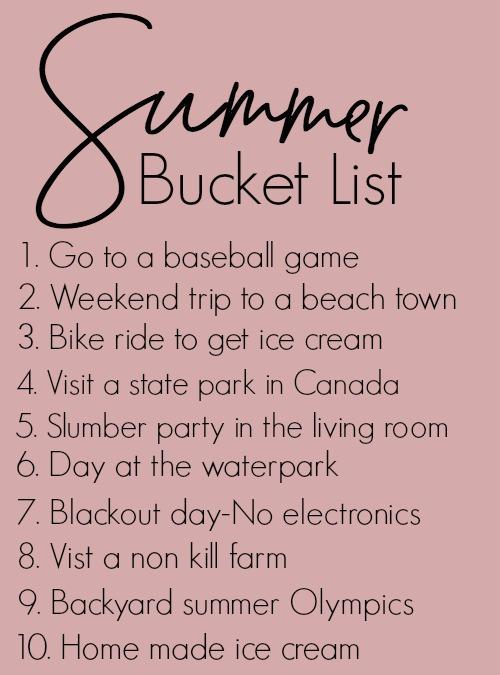 summer-bucket-list-2017