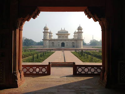 Tomb of Itimad Ud Daulah Baby Taj Mini Taj Agra Tourism Travel Blog