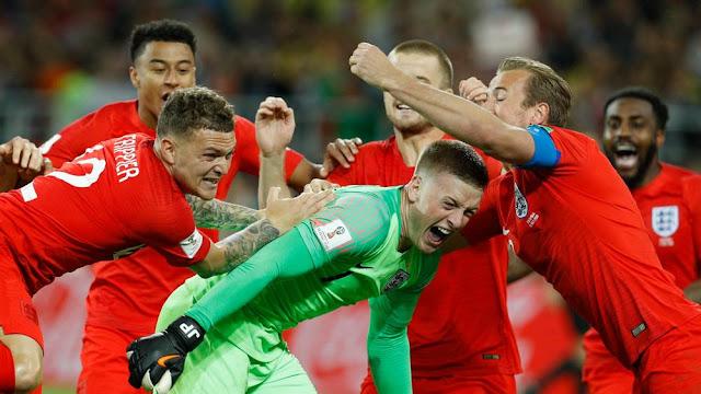 Kemenangan England Saat Melawan Columbia Tendangan Pinalty