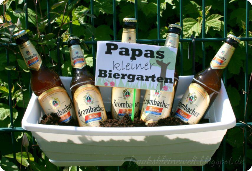 Fraukskleinewelt 444 Ein Eigener Biergarten Zum Vatertag
