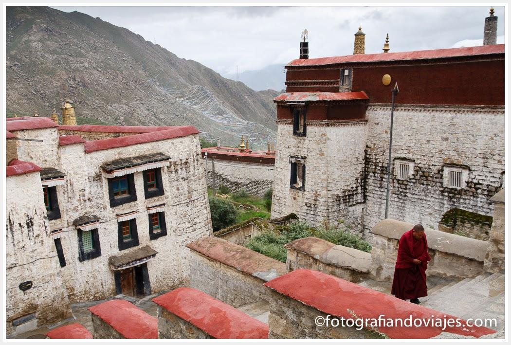 Monasterio de Drepung en Lhasa, Tibet
