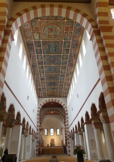 Hildesheim - St. Michaelis: Holzdeckenbild