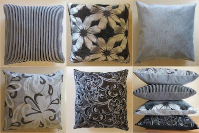 poduszki, DIY, handmade, wzory w kwiaty