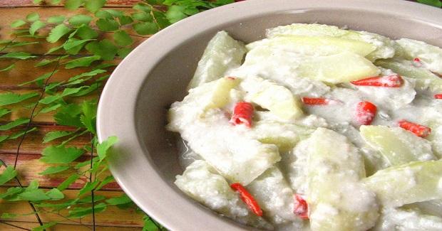 Ginataang Papaya Recipe