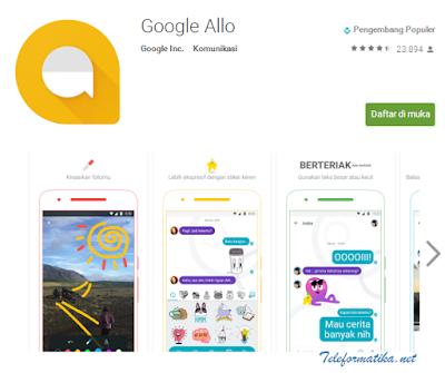Google Allo, Aplikasi Messanger Terbaru Untuk Android Buatan Google Inc