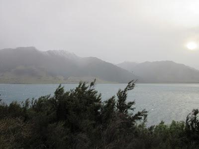 Lago Hawea, Nueva Zelanda