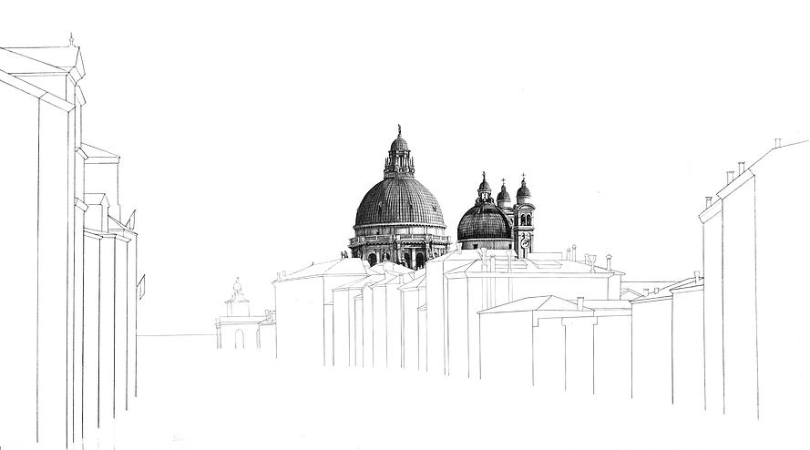 03-San-Salute-Venice-Minty-Sainsbury-Architectural-Street-and-Building-Drawings-www-designstack-co