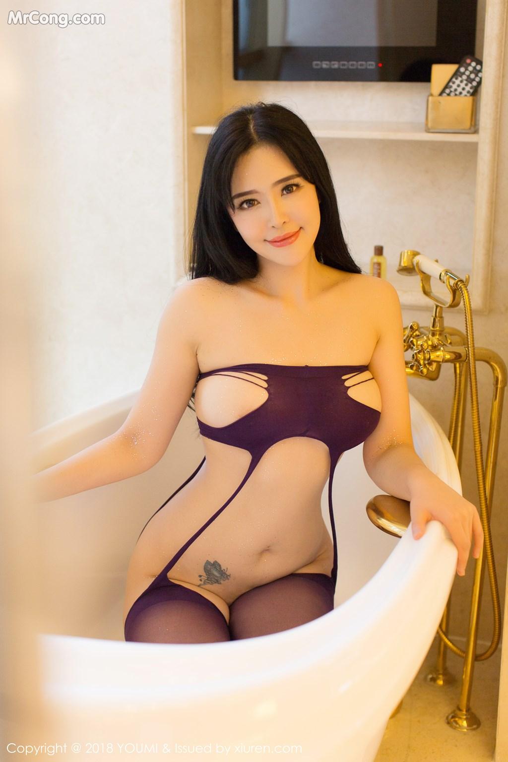 Image YouMi-Vol.124-Liu-Yu-Er-MrCong.com-026 in post YouMi Vol.124: Người mẫu Liu Yu Er (刘钰儿) (41 ảnh)