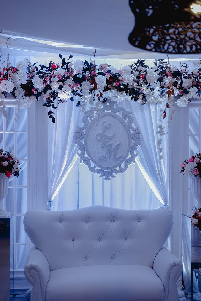 reception decors and styling