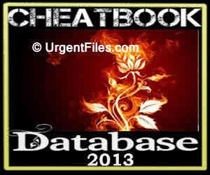 CheatBook Database 2013 Free Download (PC)