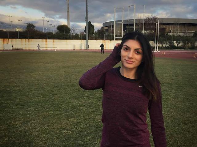 Συγχαρητήρια και ευχές του Δημάρχου Ναυπλιέων Δημήτρη Κωστούρου στην αθλήτρια Κωνσταντίνα Γιαννοπούλου