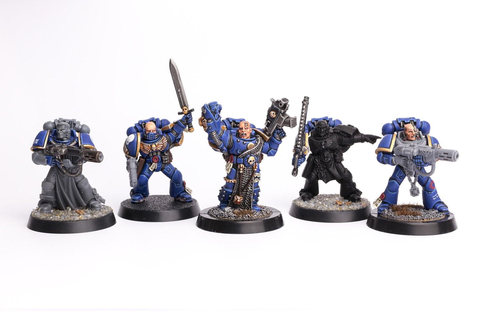 Games Workshop Warhammer 40k Dark Angels Veterans Veteran Shoulder Pad Bit New A