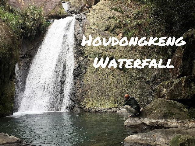 houdongkeng waterfall yulan taiwan