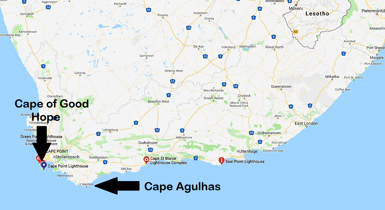 Souvenir Chronicles: SOUTH AFRICA: THE CAPE OF GOOD HOPE